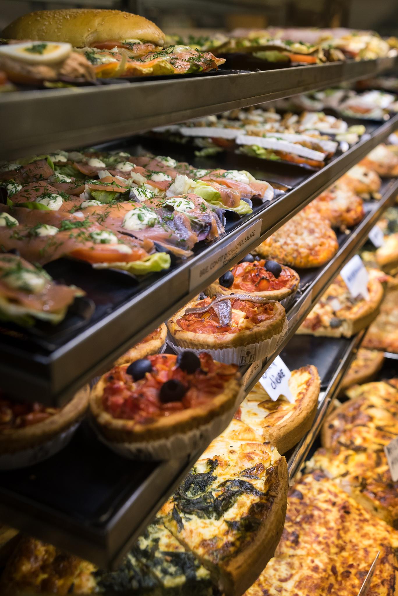 Garnitures de sandwichs, tartes tomates, tartes salées - snacking Maison Bettant à Villeurbanne