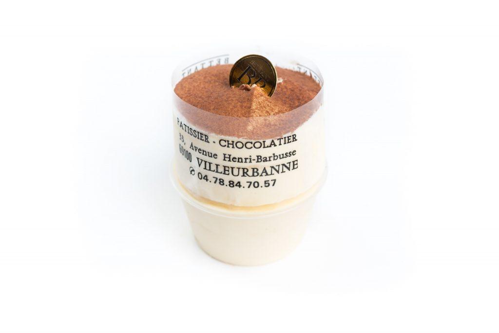 Soufflé Grand Marnier individuel glacé - Dessert glacé Maison Bettant Villeurbanne