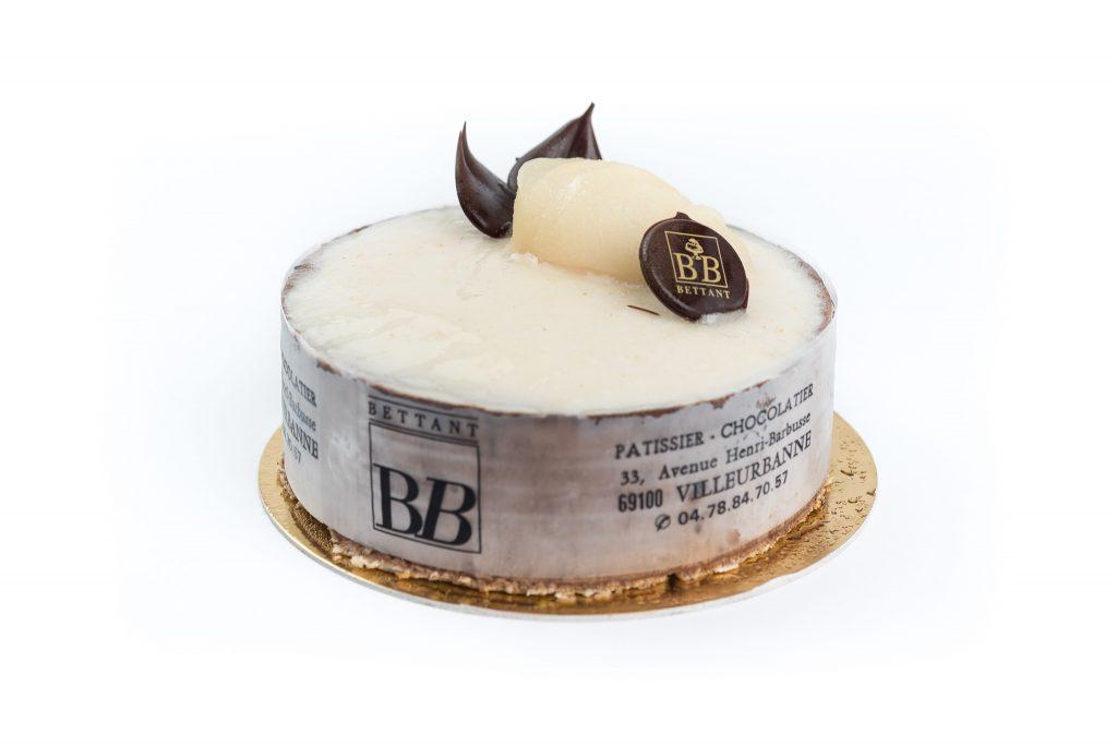 Poire chocolat glacé Maison Bettant Villeurbanne