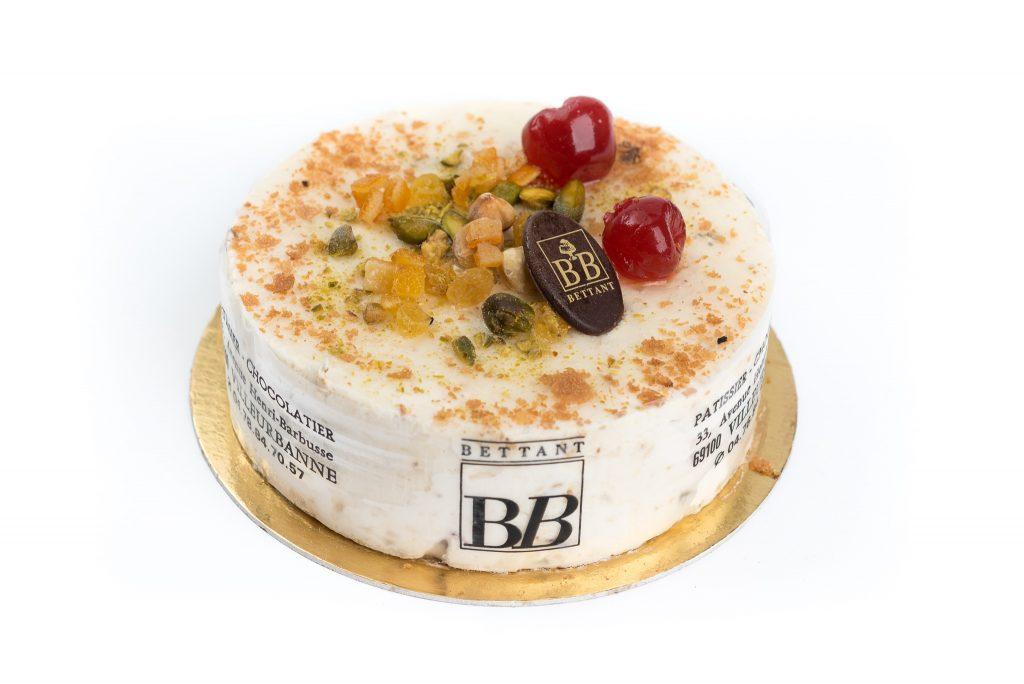 Nougat glacé - Dessert glacé Maison Bettant Villeurbanne