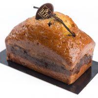 Cake vanille chocolat maison aux fruits rouges Maison Bettant à Villeurbanne