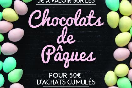 Carte Privilège Offre Chocolats de Pâques
