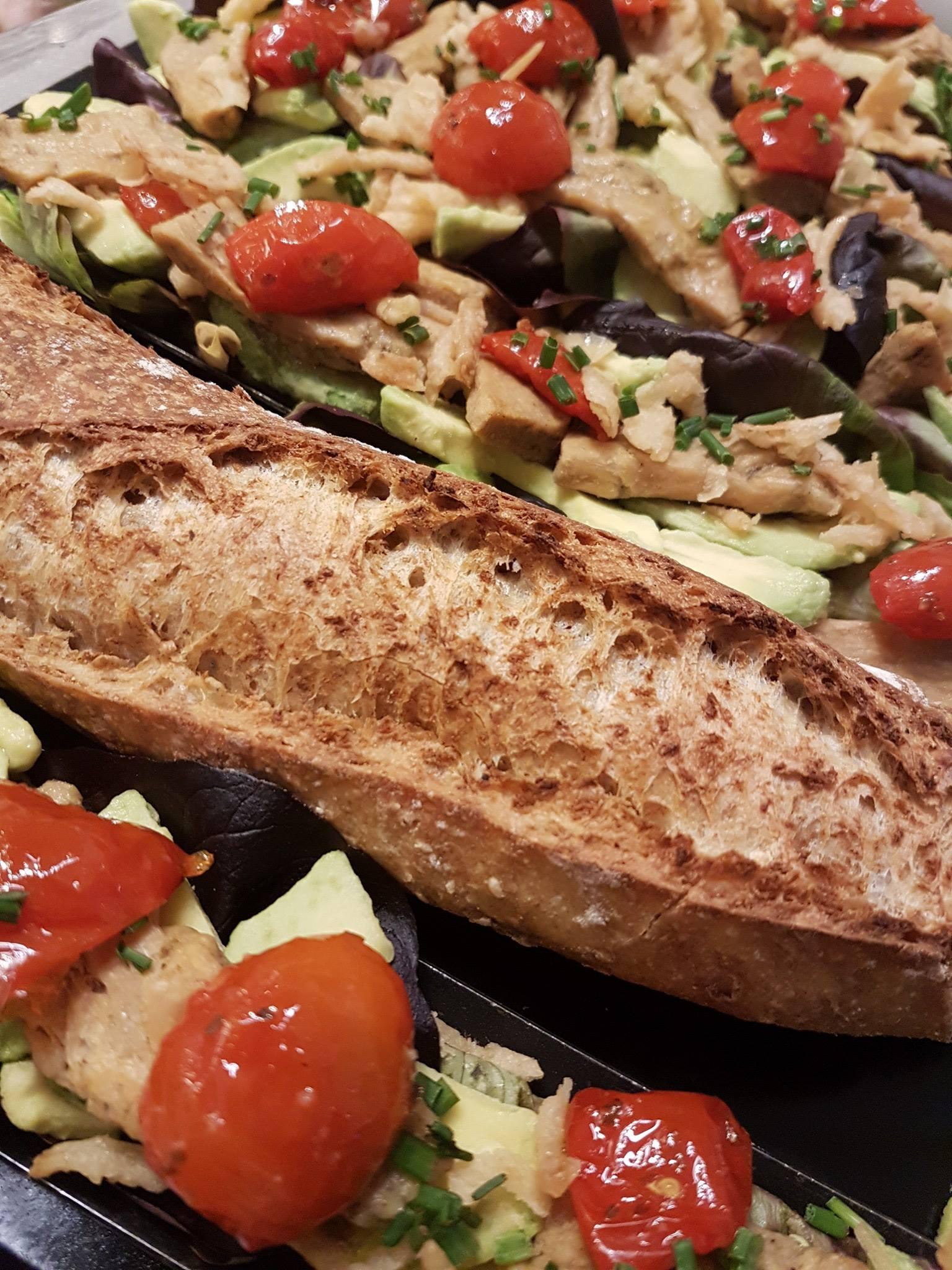 Nouveau sandwich : le vegan