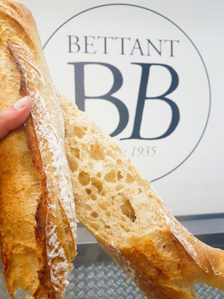 Baguette Gratte-Ciel fabriquée avec la nouvelle méthode Respectus Panis