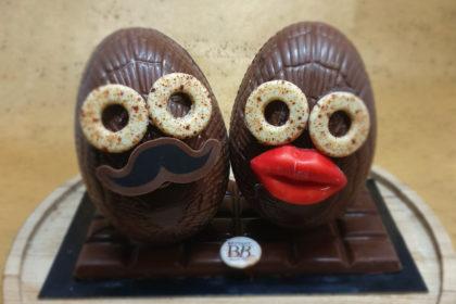 Moulage chocolat de Pâques Bettant