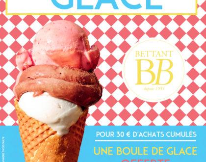Boule de glace : votre offre Été 2019 avec votre Carte Privilège Bettant