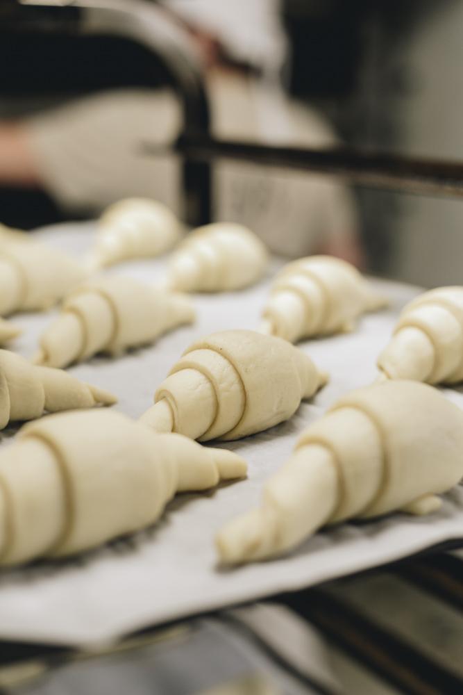Croissants prêts à passer au four - Maison Bettant