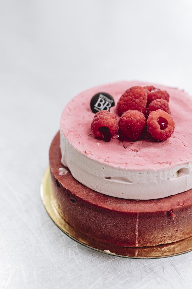Soufflé framboise glacé - Dessert glacé Maison Bettant Villeurbanne