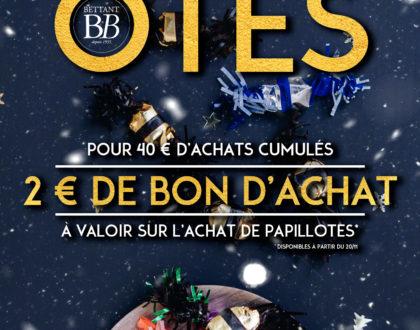 Offre Papillotes 2019 Carte Privilège Bettant