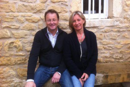 Erci et Chantal viticulteurs à Pommiers dans le Beaujolais