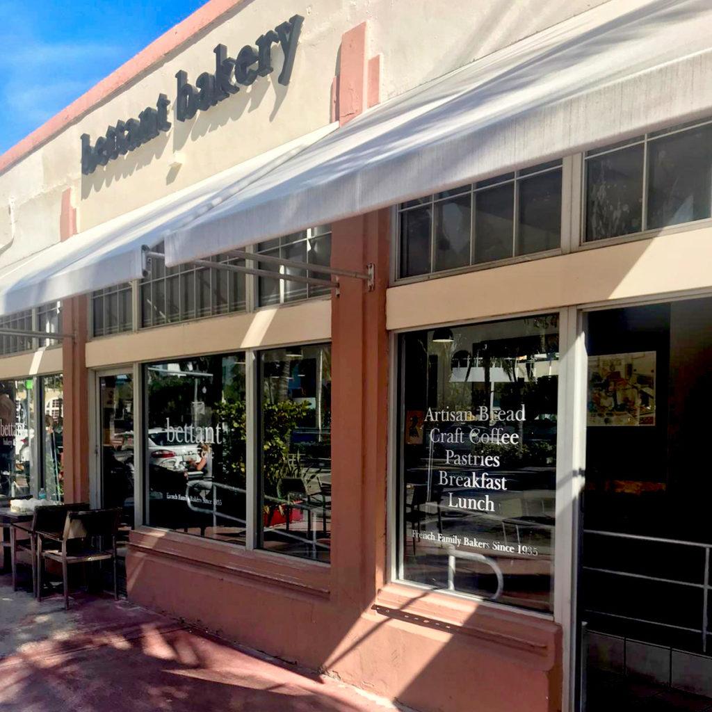 façade de la boutique bettant bakery & café Miami